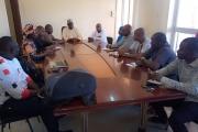 Visite des locaux de l'ANMC par le Directeur de Cabinet et le Conseiller du Ministre de l'Industrie en ce jour mercredi 05 février 2020
