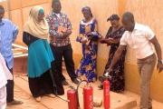 Atelier de formation sur les premiers secours et incendie au profit de l'ensemble du personnel de l'ANMC
